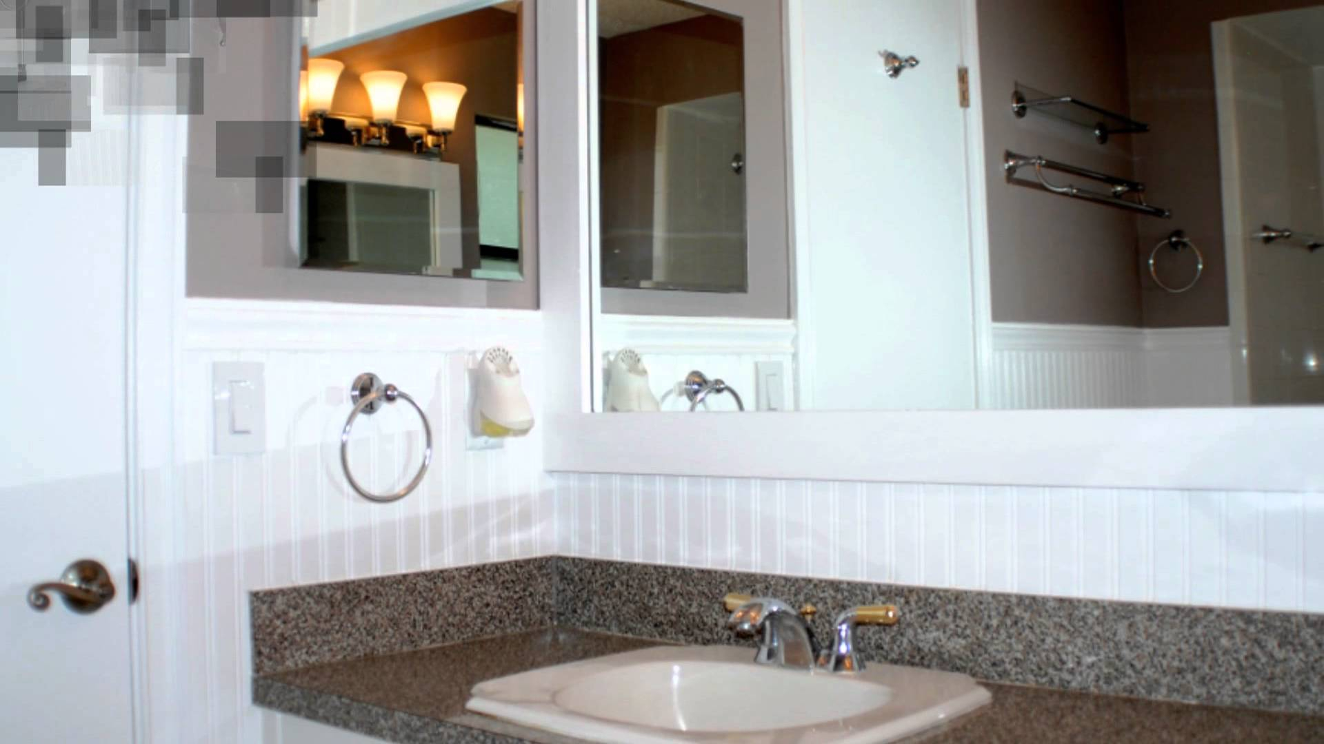 Modern How To Install Beadboard In A Bathroom - Youtube with regard to Set Bathrooms With Beadboard