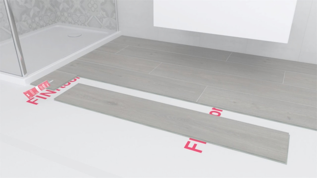 Modern How To Install Laminate Flooring In Bathrooms And Kitchens - Youtube with regard to New Laminate Bathroom Flooring