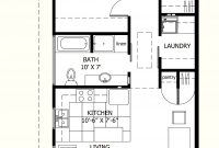 Modern I Like This One Because There Is A Laundry Room! :-) 800 Sq Ft Floor within High Quality 2 Bedroom House Plans