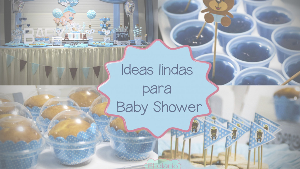 Modern Ideas Para Baby Shower Varon Juegos Mixto Decoracion Decorar