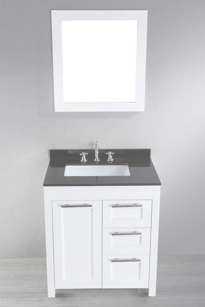 Modern Impressive White Bathroom Vanity 30 Inches 20 48 Double Sink Top inside 36 Inch Bathroom Vanity With Top