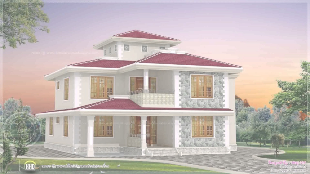 Modern Kerala Style House Plans With Cost - Youtube pertaining to Kerala Style House Plans With Cost