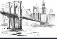 Modern Landscape Drawing Ideas Landscape Drawing Ideas Bridge Landscape inside High Quality Landscape Drawing Ideas