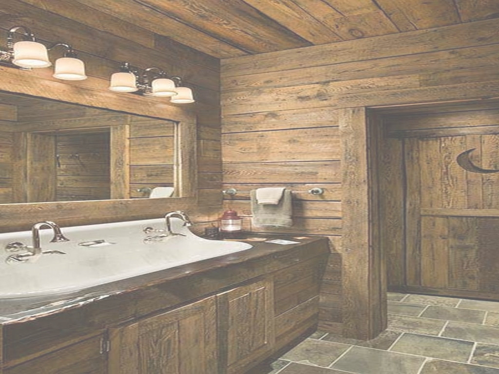 Modern Log Cabin Bathroom Small – Rabat 2013 throughout Best of Cabin Bathroom Ideas