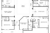 Modern Love This Layout With Extra Rooms. Single Story Floor Plans | One inside House Plans With Photos One Story