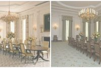Modern Michelle Obama Touches Up To The State Dining Room – Soft Designlab throughout White House State Dining Room