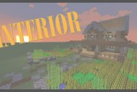 Modern Minecraft Farmhouse Interior – Minecraft Tutorial – Youtube regarding Review Minecraft Farmhouse Design