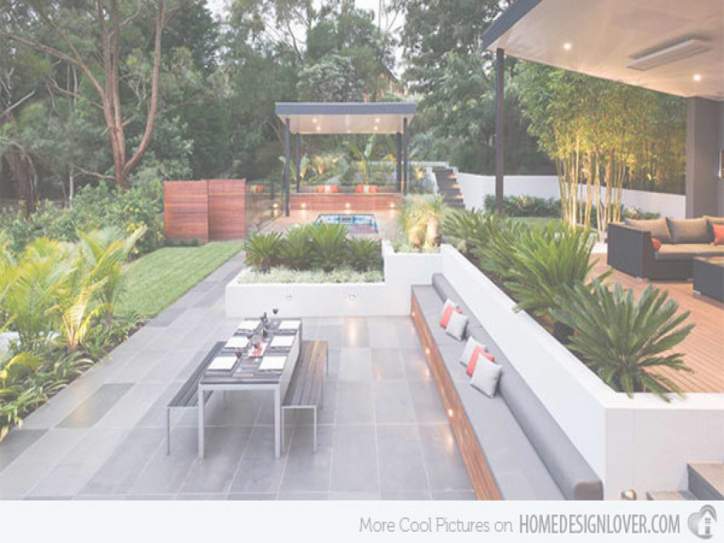 Modern Modern Backyard Ideas | Maantok-Ent throughout Apartments With Backyards