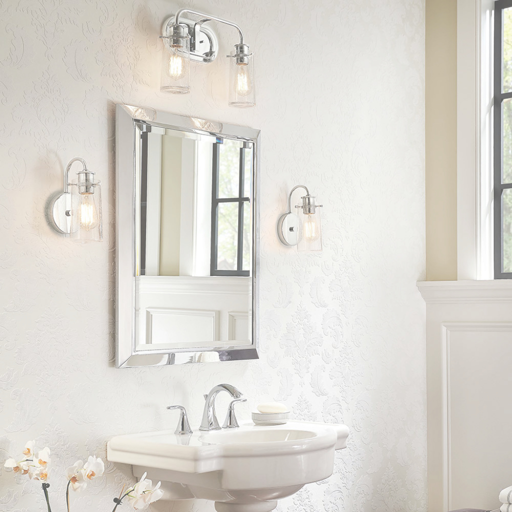 Modern Modern Bath Lighting, Traditional Vanity Light Inspirations inside Bathroom Vanity Lighting Ideas
