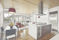 Modern Modern Country Kitchen And Dining Room Design With Black Wooden regarding Kitchen And Dining Room Together