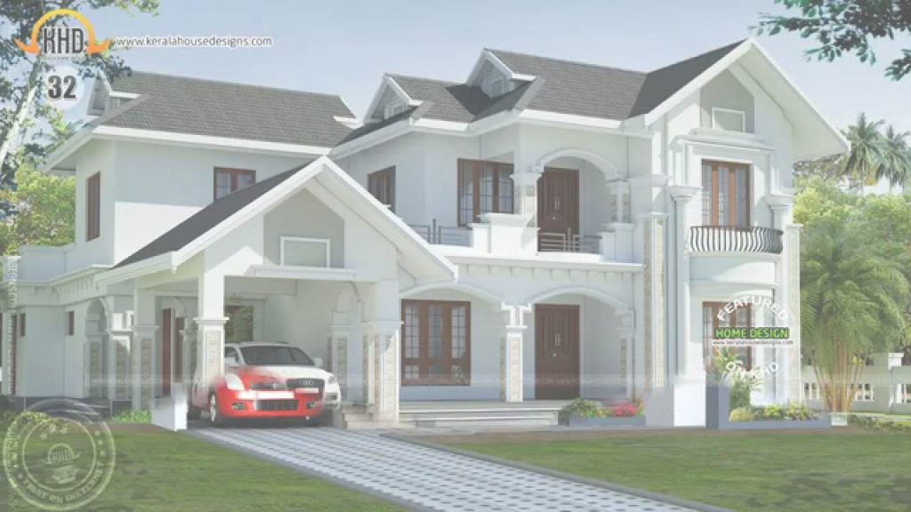Modern New House Plans For February 2015 - Youtube with regard to New House Design Photos