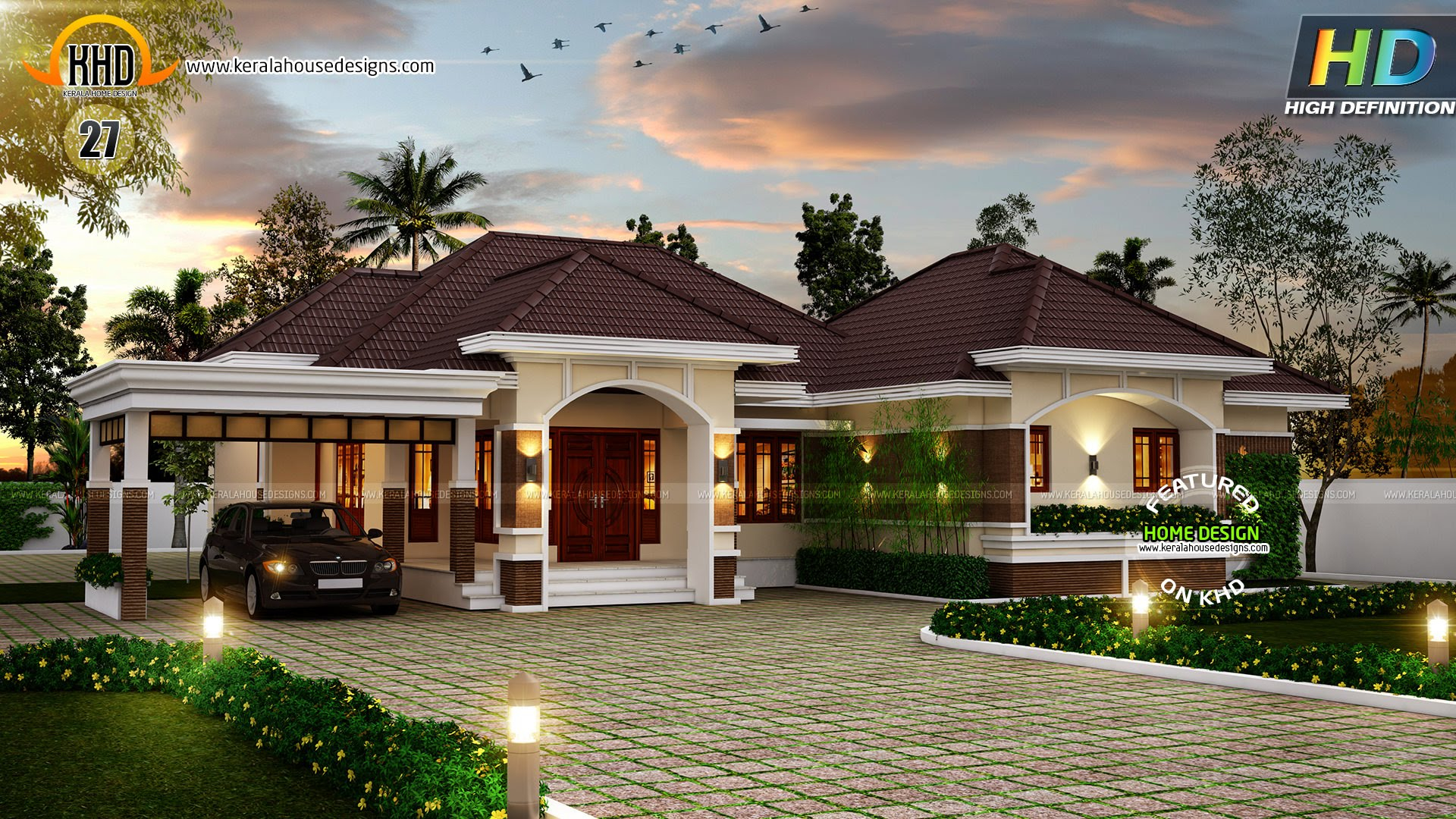 Modern New House Plans For October 2015 - Youtube throughout New House Plans In Kerala