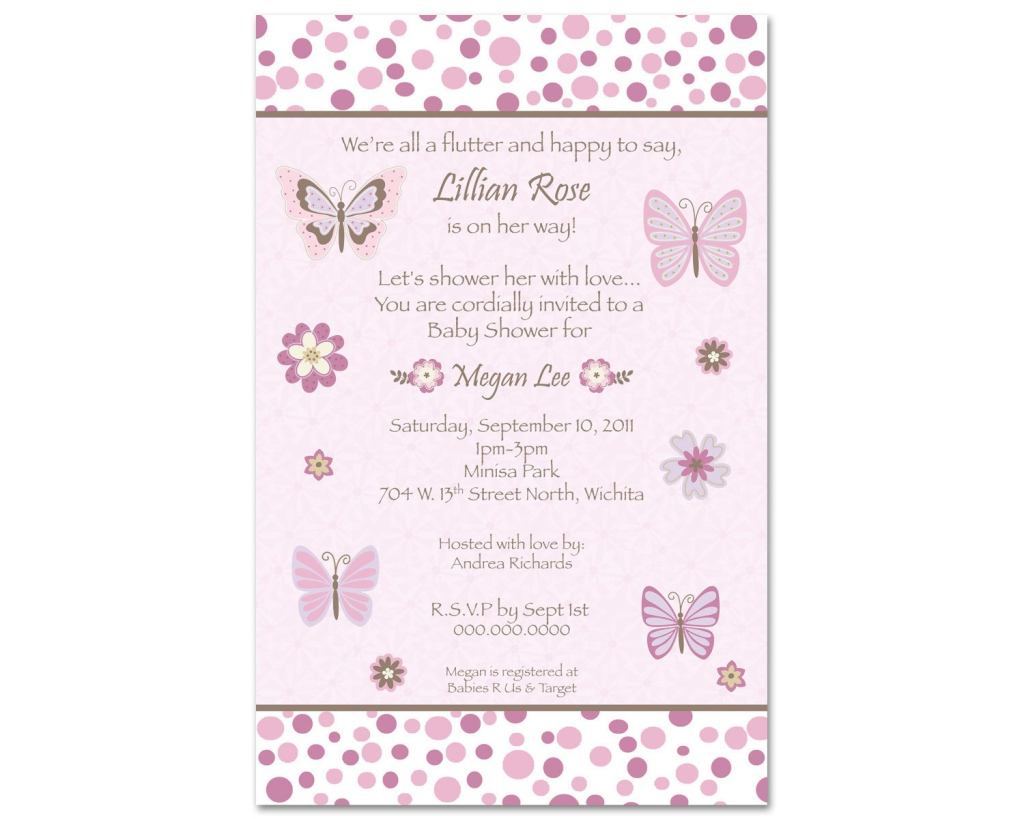 Modern Nice Baby Shower Invitation Wording For A Girl | Free Baby Shower with regard to Beautiful How Do You Say Baby Shower In Spanish