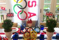 Modern Olympic Party Decorations | Party Ideas | Pinterest | Olympics regarding Olympic Themed Decorations