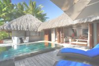 Modern Overwater Bungalows With Glass Floor with Bungalows In Bora Bora