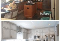Modern Painted Cabinets Nashville Tn Before And After Photos in Inspirational Painted Kitchen Cabinets Before And After