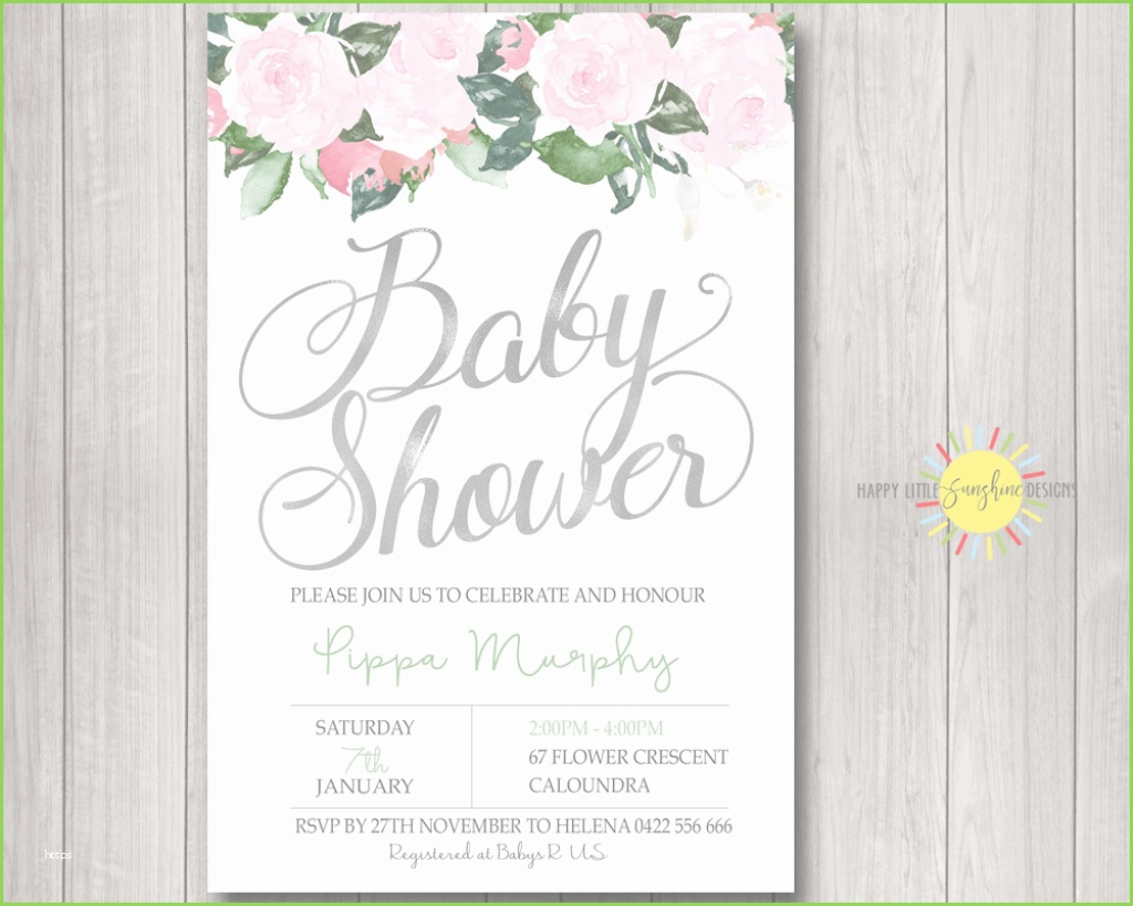 Modern Photo Baby Shower Invitations Unique Personalised Baby Shower with Baby Shower Invitations
