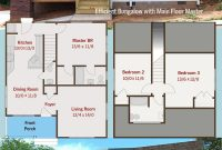Modern Plan 50114Ph: Efficient Bungalow With Main Floor Master | Pinterest for What Is A Bungalow Building