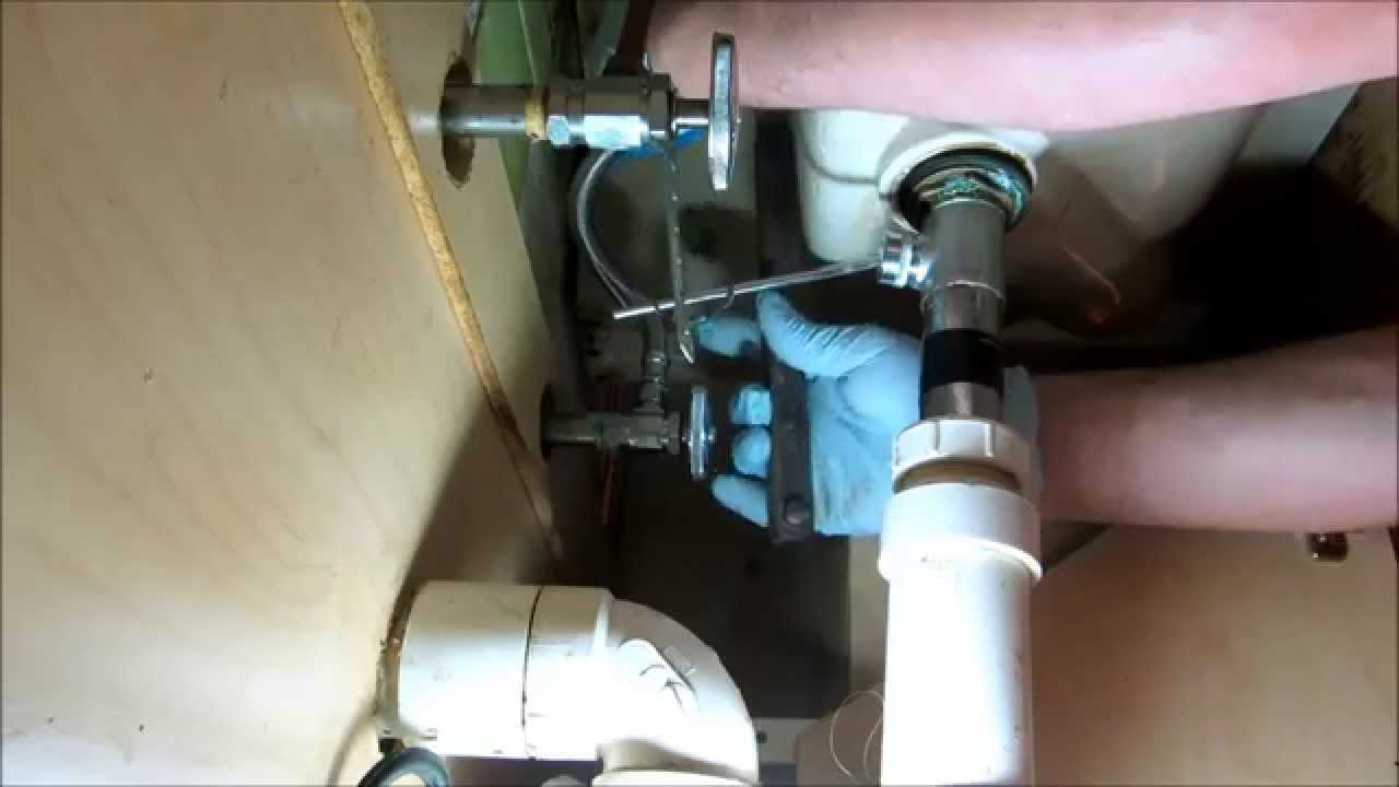 Modern Plumbing:bad Water Leak Under Bathroom Sink - Youtube inside Good quality Bathroom Sink Pipes