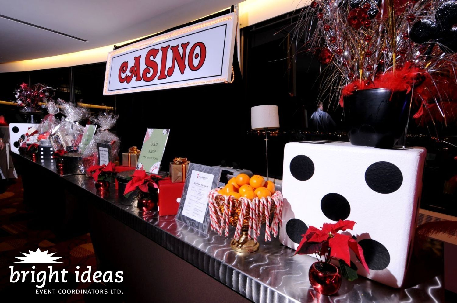 Modern Read About The Viva Las Vegas Special Event We Put Together. Guests inside Awesome Casino Theme Party Decorations