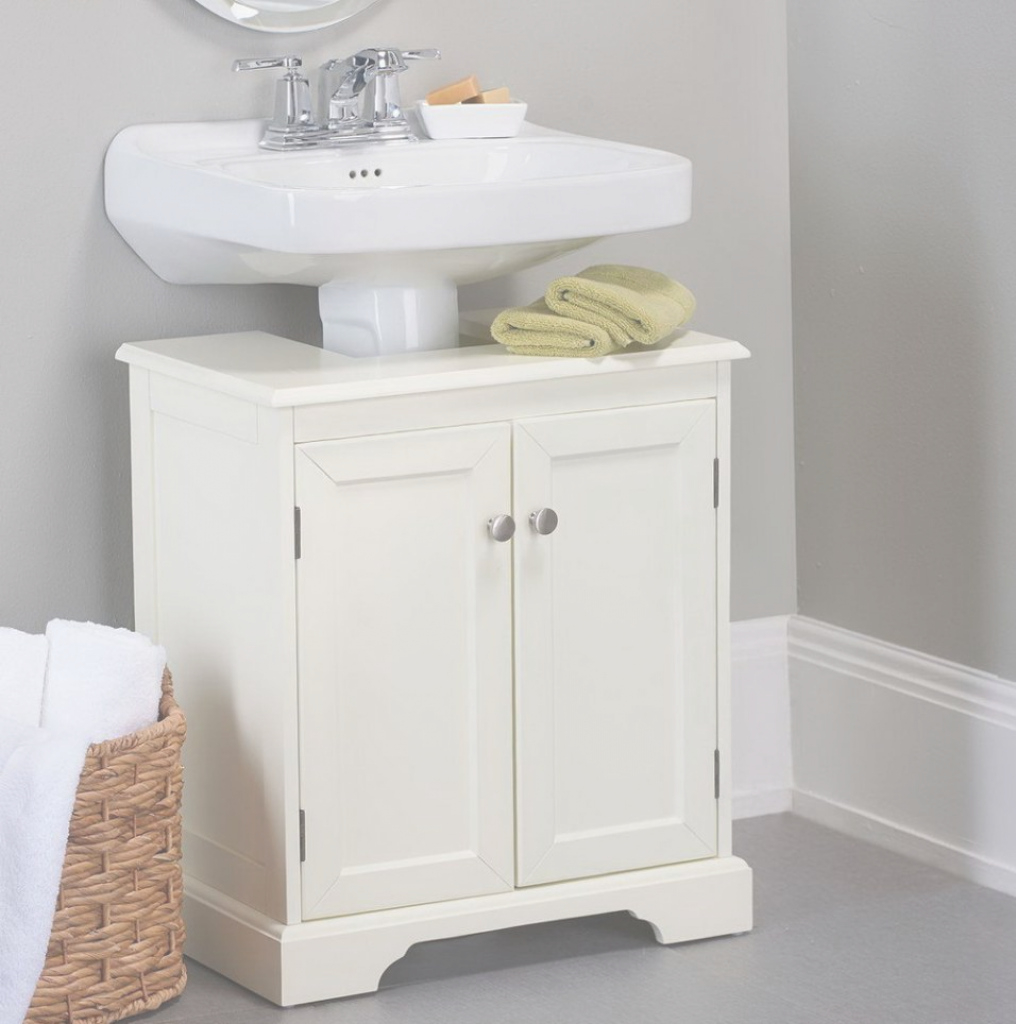 Modern Revealing Bathroom Pedestal Sink Storage Cabinet Home Designs in Bathroom Pedestal Sink Storage Cabinet