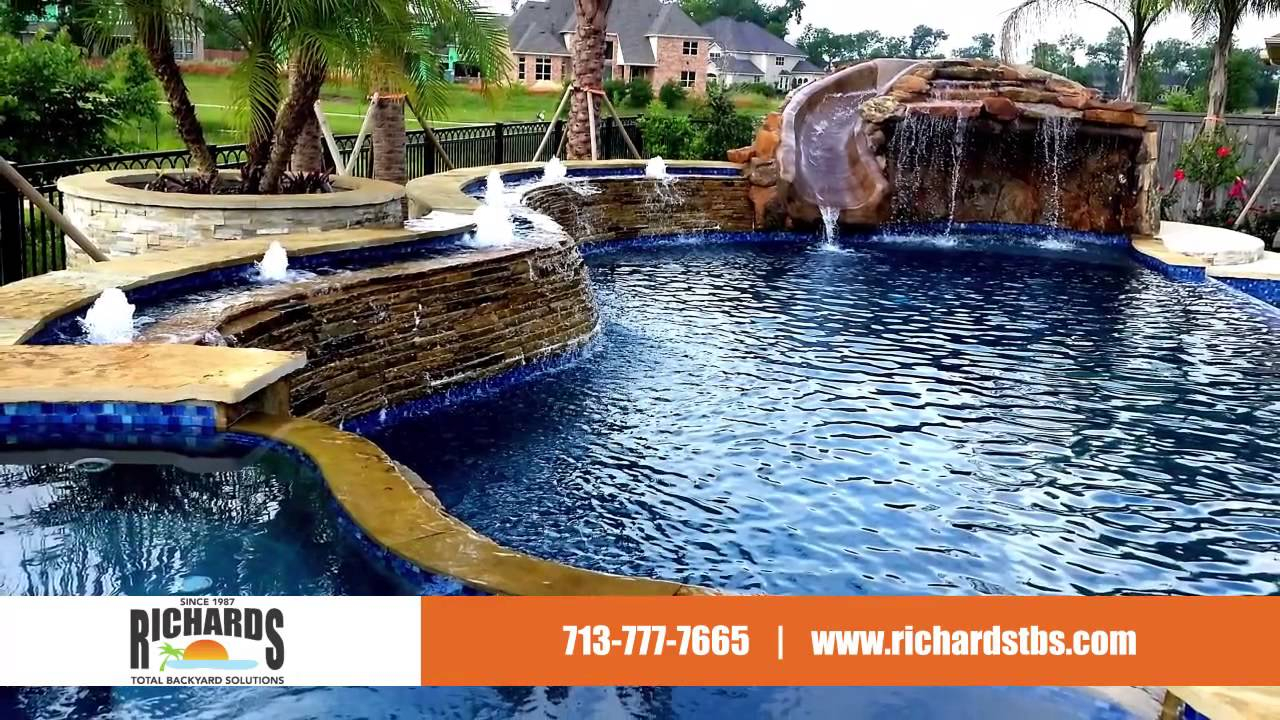 Modern Richard's Total Backyard Solutions Pools, Spas, Outdoor Kitchens pertaining to Richard's Total Backyard Solutions