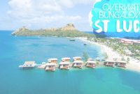 Modern Sandals St Lucia Overwater Bungalow In The Caribbean | Getting Stamped with regard to Lovely Overwater Bungalows All Inclusive