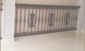 Modern Simple Modern Balcony Steel Grill Designs/terrace Balustrade/used with Good quality Simple Balcony Grill Design