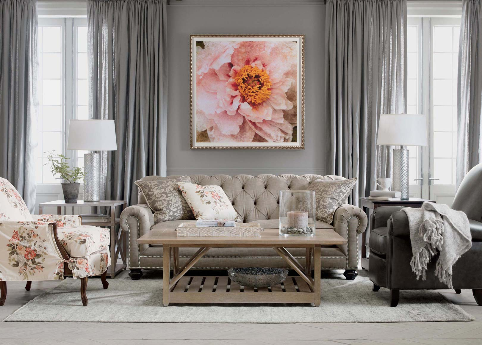Modern Sitting Pretty Living Room | Ethan Allen | Ethan Allen within Set Ethan Allen Living Room