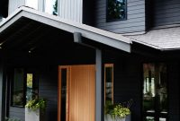 Modern Sleekness In Seattle: Modern Garden, Midcentury House | Pinterest within Modern House Paint
