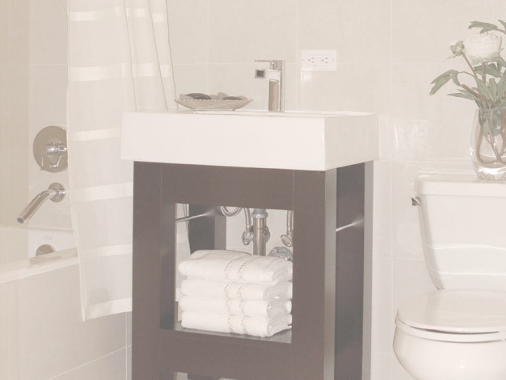 Modern Small Bathroom Vanities | Hgtv within Vanity For Small Bathroom