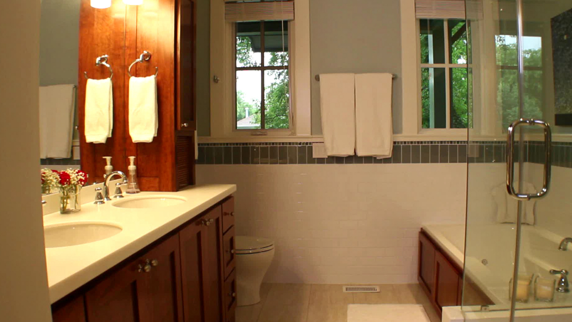 Modern Small But Mighty Bathrooms | Hgtv with regard to Review Bathroom Remodel Ideas Small
