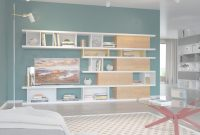 Modern Small Living Room. Shelving Units For Living Room: Minimalist Modern regarding Living Room Shelving Units