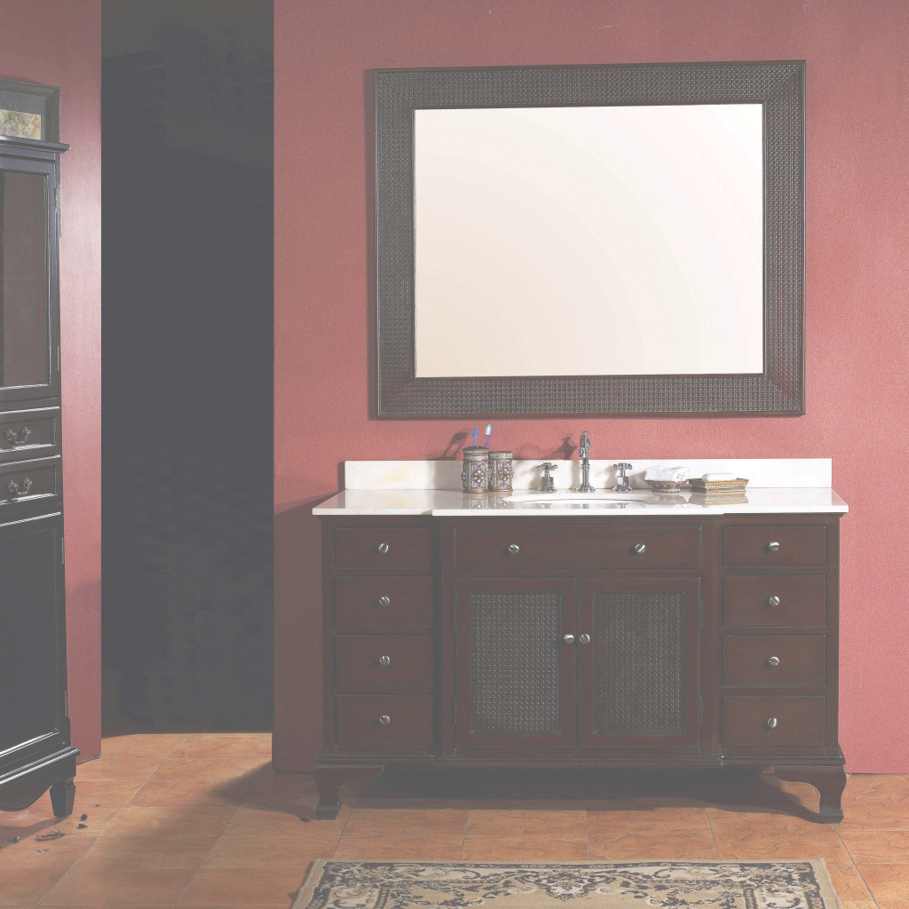 Modern Splendid-Cabinet-Bathroom-Vanity-Black-Te-Granite-Countertop-Denver in Beautiful Bathroom Vanities Denver