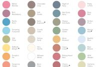 Modern Stampin' Up! Overhauls Color Palette – Scrapbook Update intended for Color Palette Names