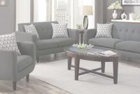 Modern Stansall Living Room Set (Grey) – Living Room Sets – Living Room throughout Grey Living Room Sets