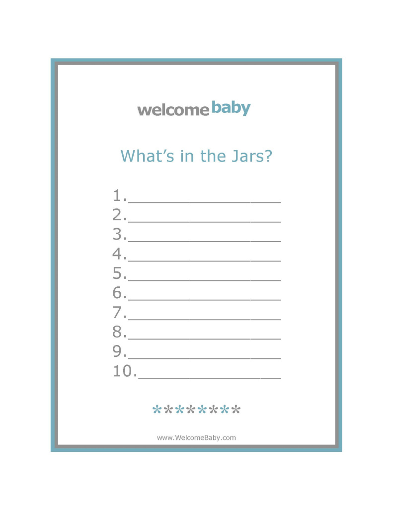 Modern Sweet Looking Office Baby Shower Games Free Downloads Welcome - Wedding intended for Good quality Office Baby Shower Games