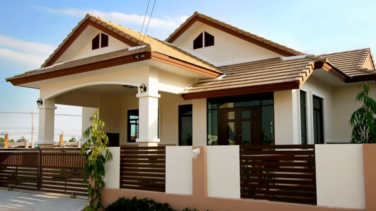 Modern The Best Bungalow Styles And Plans In Philippines - Youtube for Bungalow House Style