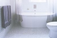Modern The Best Tile Ideas For Small Bathrooms with regard to Bathroom Tile Flooring