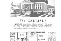 Modern The Carlisle (An American Foursquare Kit House/house Plan) – Homes in American Foursquare Floor Plans Images