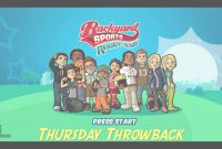 Modern Thursday Throwback (Backyard Sports Rookie Rush) – Youtube with Backyard Sports