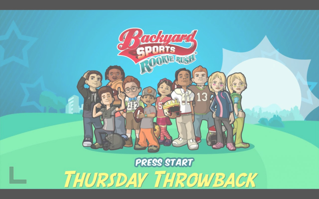 Modern Thursday Throwback (Backyard Sports Rookie Rush) - Youtube with Backyard Sports