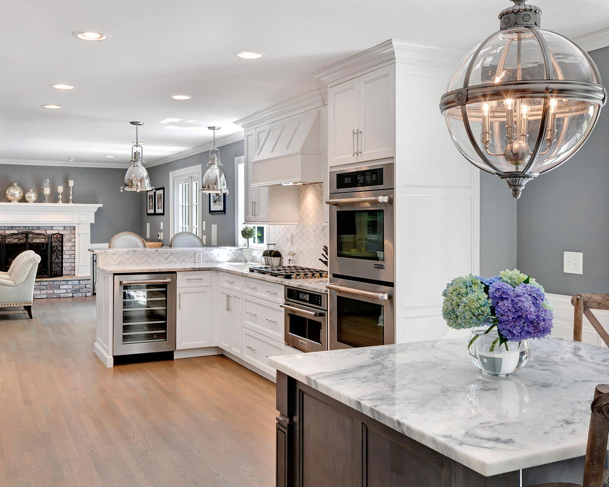 Modern Timeless Grey And White Kitchen Middletown New Jerseydesign Line regarding Inspirational Timeless Kitchen Design