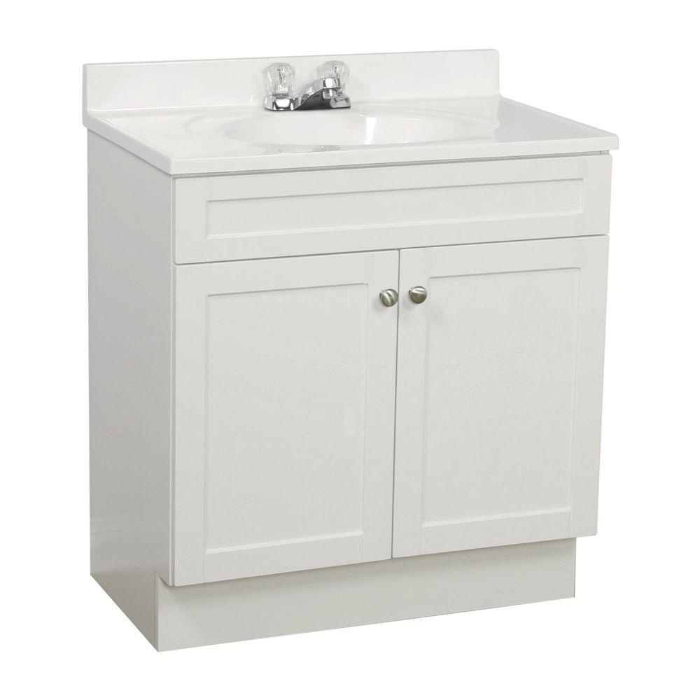 Modern Traditional White Shaker Bathroom Vanities - Rta Cabinet Store for Best of Shaker Bathroom Cabinets