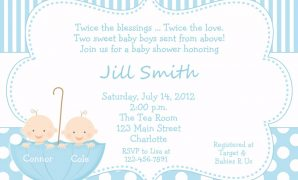 Modern Twins Baby Shower Banner Lovely Twins Baby Shower Twin Baby Girl with Baby Shower Invitations For Twins