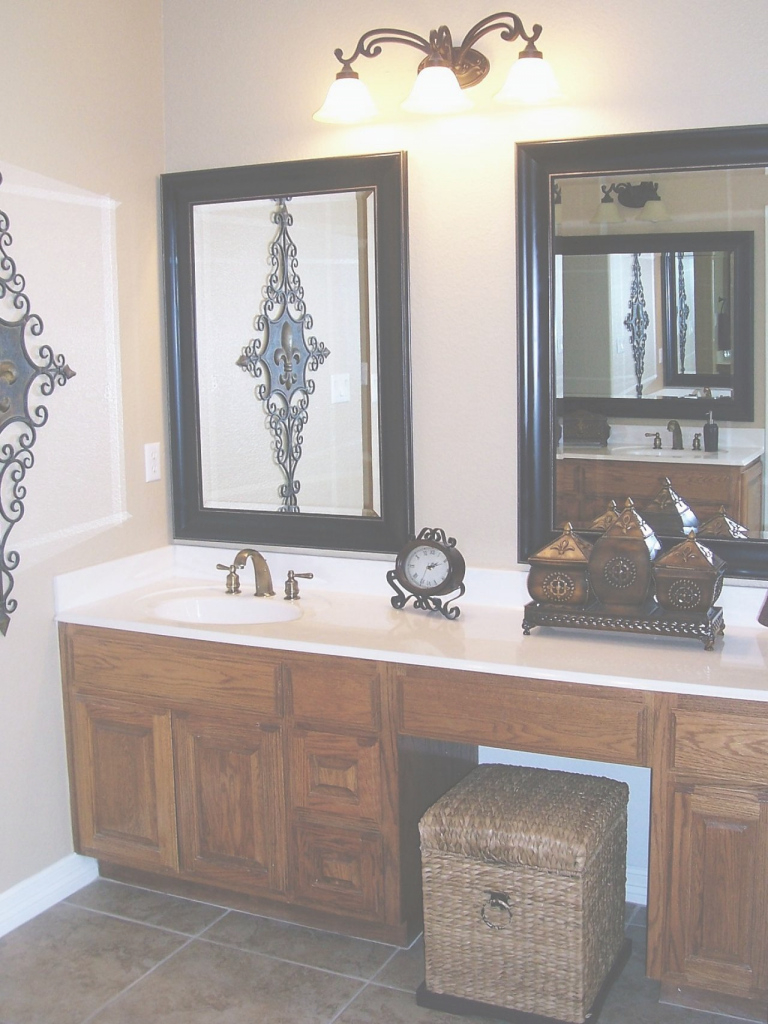 Modern Types Of Vanity Mirrors - Darbylanefurniture intended for Mirror Bathroom Vanity