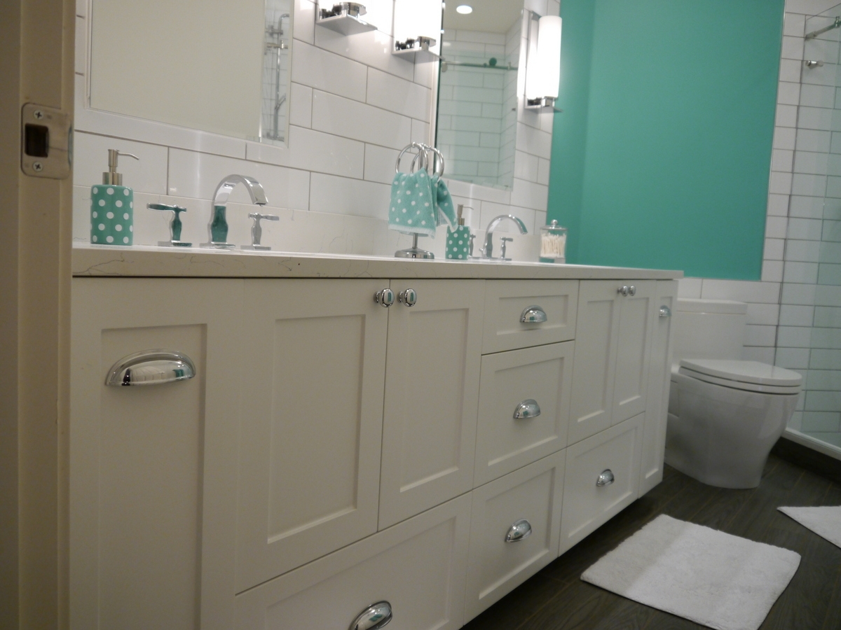 Modern Vanities pertaining to Shaker Bathroom Cabinets