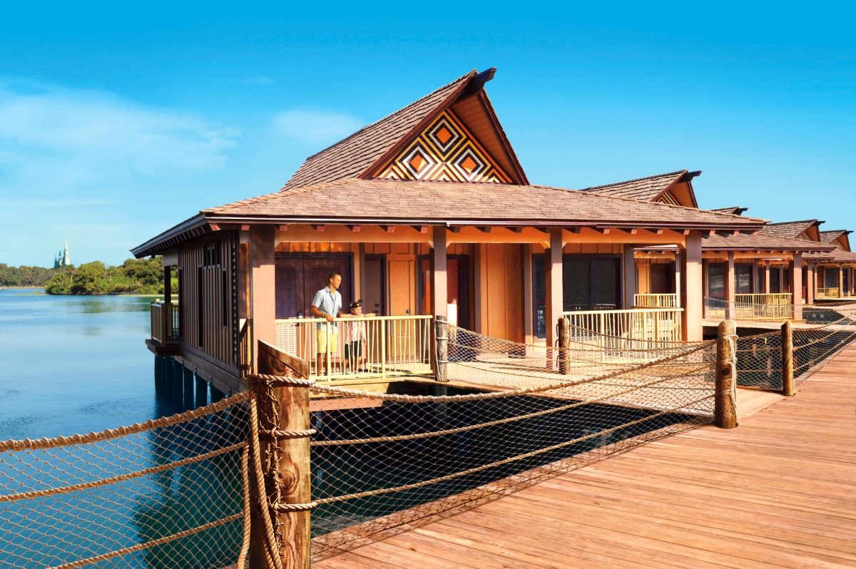 Modern Wdwthemeparks - Press Release - Disney's Polynesian Villas with regard to Beautiful Disney Polynesian Resort Bungalows