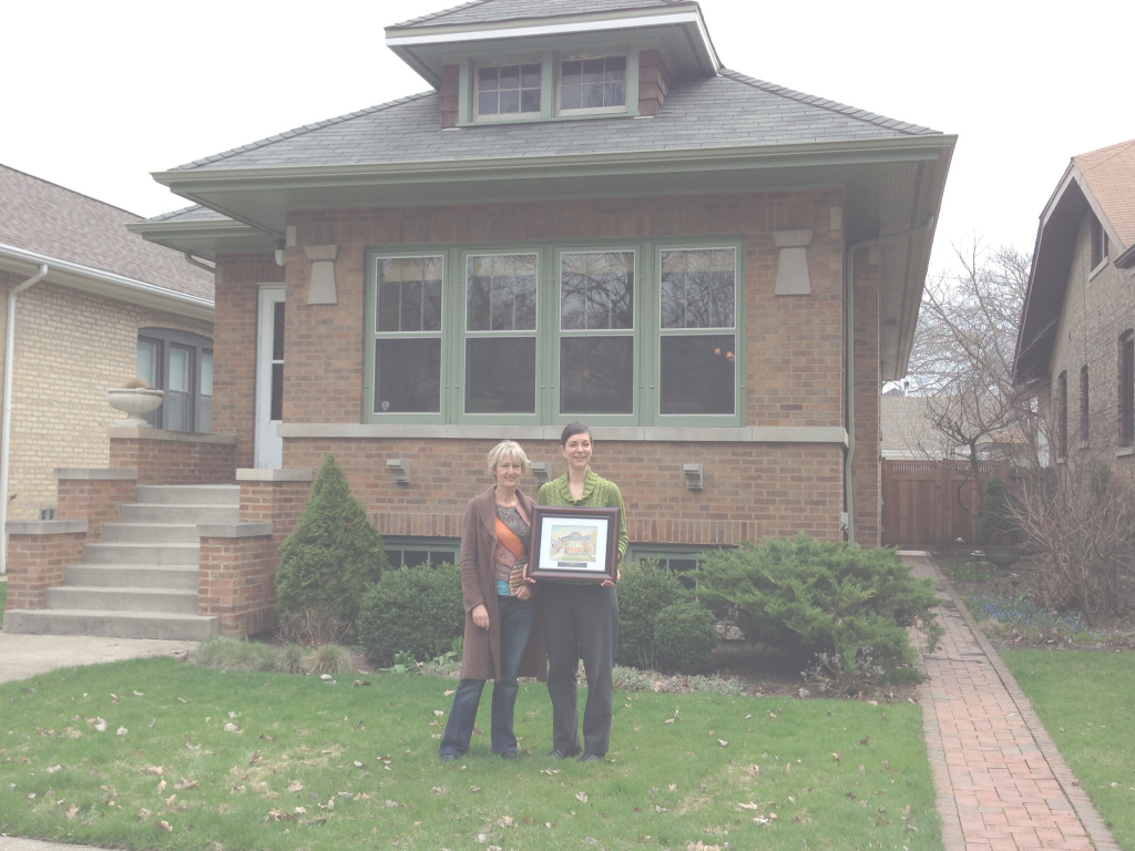 Modern We Would Like To Extend Our Congratulations To Julie Liska, Historic pertaining to Beautiful Chicago Bungalow