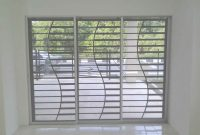 Modern Window Glass Design For Home Grill Large Windows Catalogue 2014 regarding Latest Window Grill Design Photos
